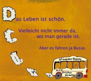 Cover der CD des Komikers aus Berlin: Christoph Schmidtke.
