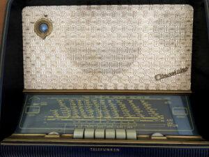 Dampfradio aus den 1950ern